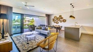 dormitorio Mythic Suites & Villas