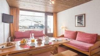 bedrooms Le Schuss